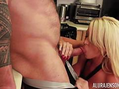 Moist pussyhole of alura jenson drilled by muscular hunk zeb atlas