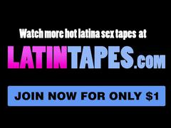 Little latina sadie pop gets banged on a kitchen counter
