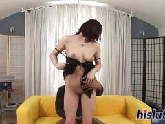 Well-hung stud takes nikol for a cock-ride