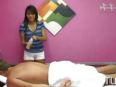 Enjoy the mix of massage and sex movie