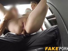 Emo student gets her huge tits and pussy inspected by a cop