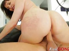 Cute stepmom dana dearmond wants a huge cock in her asshole
