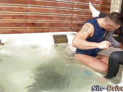 Wet fucked slut jizzed