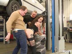 German anal mechanics