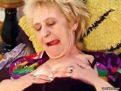 blowjob, granny, old and young, blonde, hairy, mature