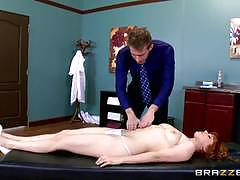 Sexy patient penny pax gets some unexpected treatment