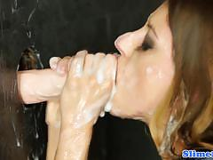 Naughty nikki thorne takes a drenching