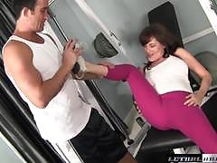 Bella roxx riding on a stiff dick