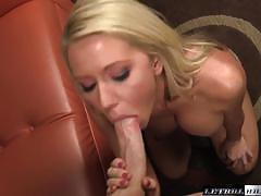 Pretty blonde ashley winters sucking dick
