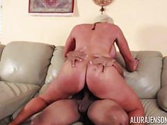 Balls deep creampie for sexy blonde milf alura jenson