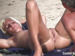 Sexy blonde nudist milf voyeur hd video