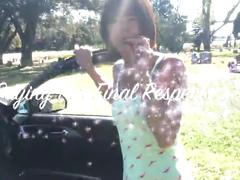 Public sex at cemetery with hot teen bombshell innocent megan pov