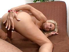 Horny blonde bridgett lee drilled balls deep by ron jeremy