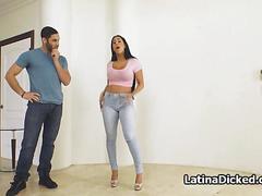 Bigtit cuban wife sucks titfucks and fucks