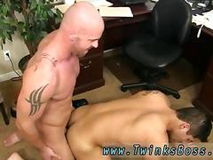 Gays boy sex porn pervy boss mitch vaughn finally digs up enough leverage on fresh stud