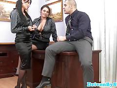 Hot horny assfucking threeway with anissa kate