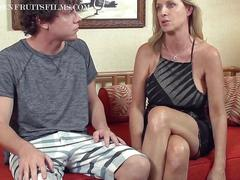 Sexy milf jodi has a bad day made better by a young stud