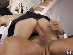 Mature brit sucking dick