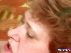 Mature mom fucked hard.