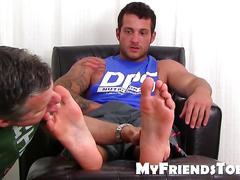 masturbation, hunk, twink, amateur, feet, fetish, toe sucking