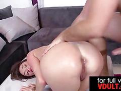 Dirty milf ariella ferrera takes a huge dick