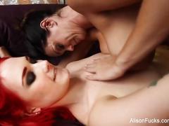 Big boobed lesbian fun with alison tyler and siri