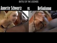 Annette schwartz vs belladonna who is the deepthroat queen ?
