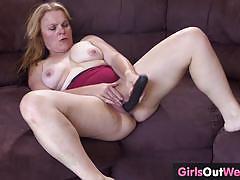 big tits, blonde, milf, busty, toy, pussy, masturbation, dildo, solo, orgasm, mom, piercing, australian, boobs, mature, amateur