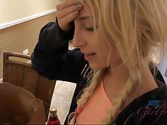 Cock playing blonde piper perri