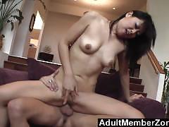 Adultmemberzone yuki mori rides cock just how she likes it