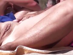 amateur, beach, milfs, masturbation, voyeur
