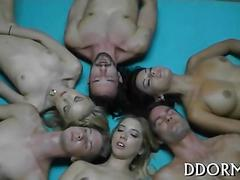 Crude and explicit orgy amateur movie 1