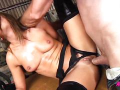 Adriana checkik ass fucked roughlyadriana chechik gets her pussy and ass fucked roughly