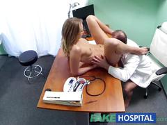 blonde, reality, small tits, fakehospital, doctor, uniform, hospital, cumshot, hardcore, blowjob, spycam, euro, small-tits, pov, cunnilingus, shaved, doggy-style