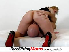 big tits, blonde, milf, pussy licking, facesittingmoms, old, mom, mother, cougar, grandma, granny, european, czech, facesitting, high-heels, old-young, pussy-eating