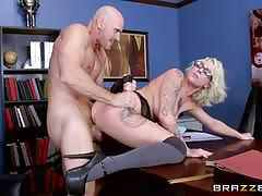 Busty blonde schoolgirl harlow harrison fucked by her teacher
