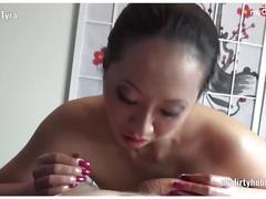 My dirty hobby - amateur pornbabetyra massiert und leckt beim handjob