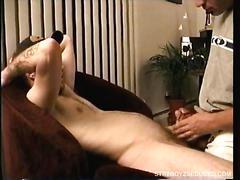 Sucking str8 boy johnny cock