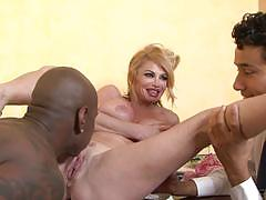 taylor wane, big dick, blowjob, riding, big tits, doggystyle, cumshot, facial, blonde, milf, reverse cowgirl, interracial, watching, pussy licking, cuckold, sucking, bbc