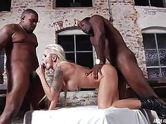 nina elle, blowjob, milf, black, interracial, mature, gagging, gag, bigtits, voyeur, bbc