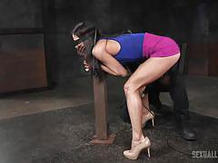 Curvaceous kalina ryu dominated by two men