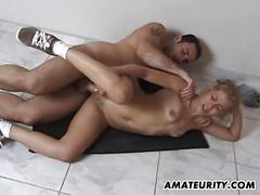 Amateur exgf anal fuck with facial shot