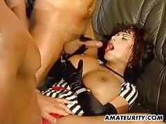 Wife fucked in foursome