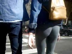 Bootycruise: honey in gray tights
