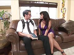 Sexy lisa ann loves a sweet toyboy to fuck