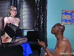Black cock therapy with riley reid
