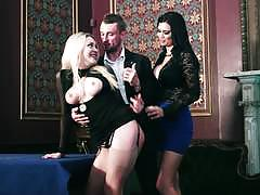 Cumswapping british dames tamara grace and jasmine jae