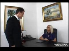 Angelina sexy milf get fucked on the office