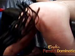 Busty blonde stunner has her orgasmic snatch pleasured by a hot bimbo