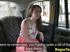 Eurobabe squirts all over the back of a taxi